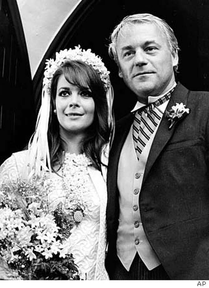 Actress Natalie Wood poses with her husband, British producer Richard Gregson, outside the Holy Virgin Mary Church following their Russian Orthodox wedding ceremony in Los Angeles, Ca., May 30, 1969. (AP Photo) Natalie Wood, with British producer Richard Gregson, following their Russian Orthodox wedding ceremony in Los Angeles in 1969.