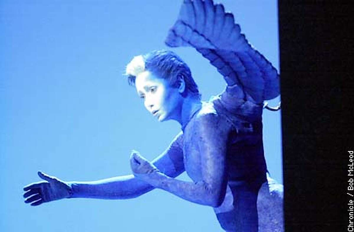 ASSISE30a-C-24SEP02-DD-BM St. Francoise D'Assise, at sf opera. Laura Aikin as the Angel. Chronicle photo by Bob McLeod