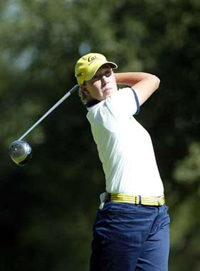 Cal golfer Sarah .