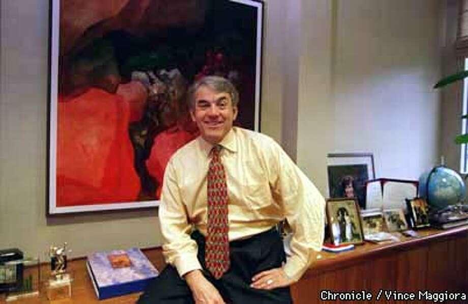 = Jim Morgan CEO of Applied Materials in his office , Santa Clara. by Vince Maggiora Photo: VINCE MAGGIORA
