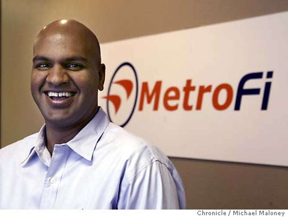 Pankaj Shah is the chief strategist and co-founder of MetroFi.  MetroFi of Mountain View plans to wire the entire city of Santa Clara, offering wireless high-speed Internet service to 40,000 homes for $30 a month. But analysts aren't sure yet whether it makes financial sense to wire an entire city for Wi-Fi. Photo by Michael Maloney / CHRONICLE Photo: Michael Maloney
