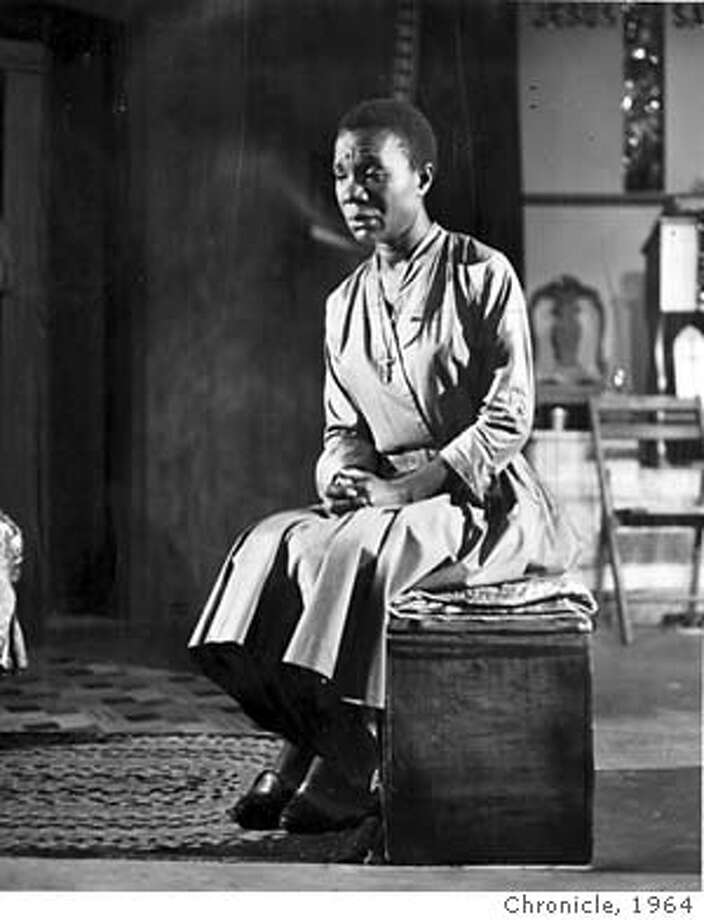 "has the leading role fo the evangelist sister margaret in james baldwin's first play ""the Amen Corner"", a frank silvera production opening a three-week run at marines' theater september 23rd, under the aegis of the actor's workshop. 1964 Chronicle Library"