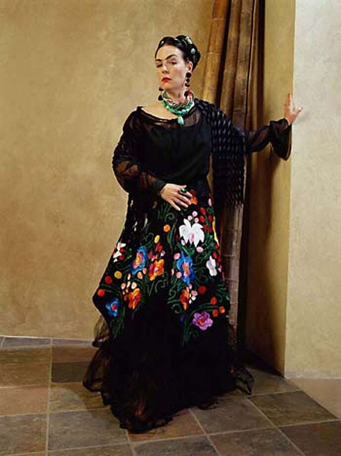 Frida Kahlo-inspired fashions are among the highlights of Cicada's line.