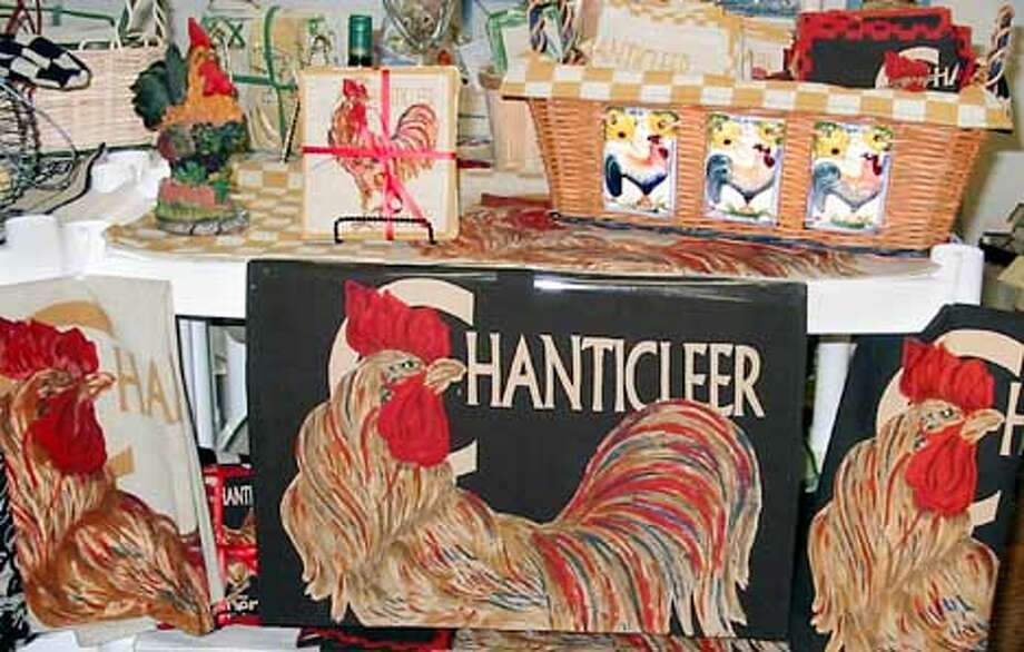 Close up of Chanticleer Rooster (HANDOUT PHOTO) Photo: HANDOUT