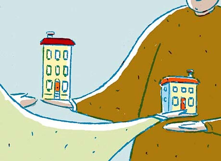 House Swap: How to vacation without leaving home -- someone else's. Chronicle graphic by Tom Murray