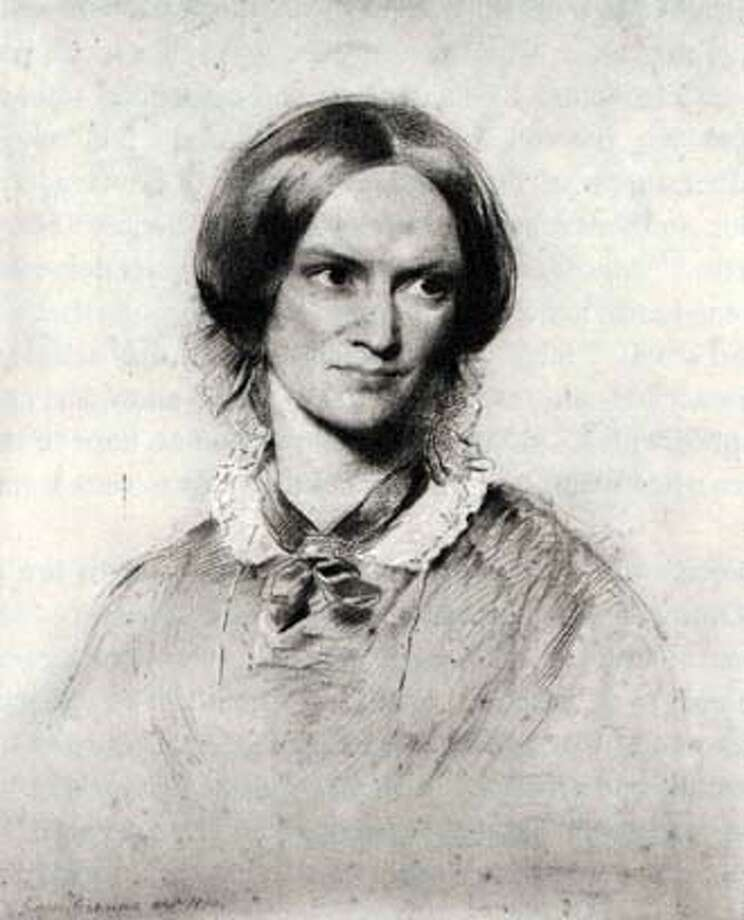 AUTHOR CHARLOTTE BRONTE IN 1850 DRAWN BY GEORGE RICHMOND