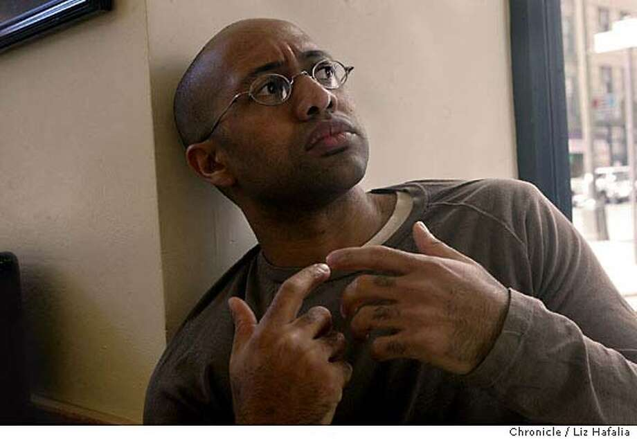 SHABAZZ_099LH.JPG  Author Russell Rickford wrote a new biography of the widow of Malcolm X, Betty Shabazz. Shot on 2/11/04 in San Francisco. LIZ HAFALIA / The Chronicle Photo: LIZ HAFALIA