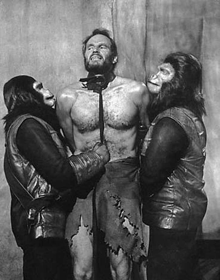 "/ for: Sunday Datebook original ""planet of the apes"" movie"
