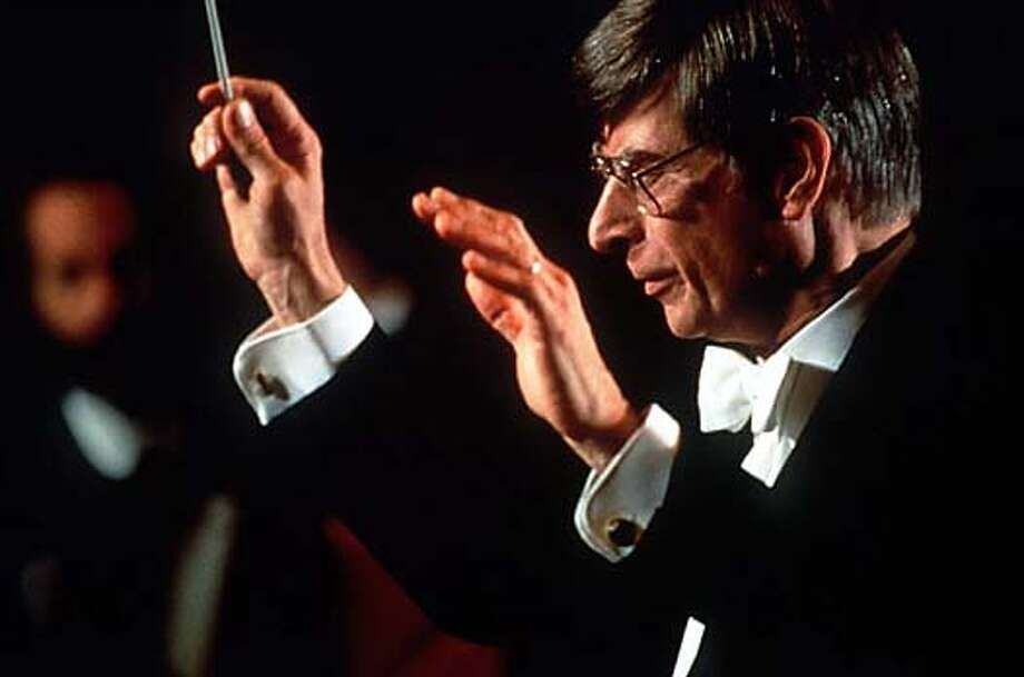 SYMPH13/C/12FEB99/DD/HO HERBERT BLOMSTEDT CONDUCTOR LAUREATE SAN FRANCISCO SYMPHONY. TERRENCE MCCARTHY FOR THE SAN FRANCISCO SYMPHONY, 1992, Also ran 4/06/02, 04/05/03 CAT