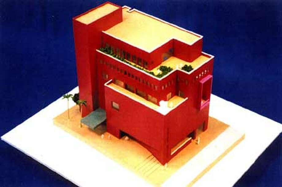 This is a scan of a copy of the new model of the Mexican Museum. HANDOUT