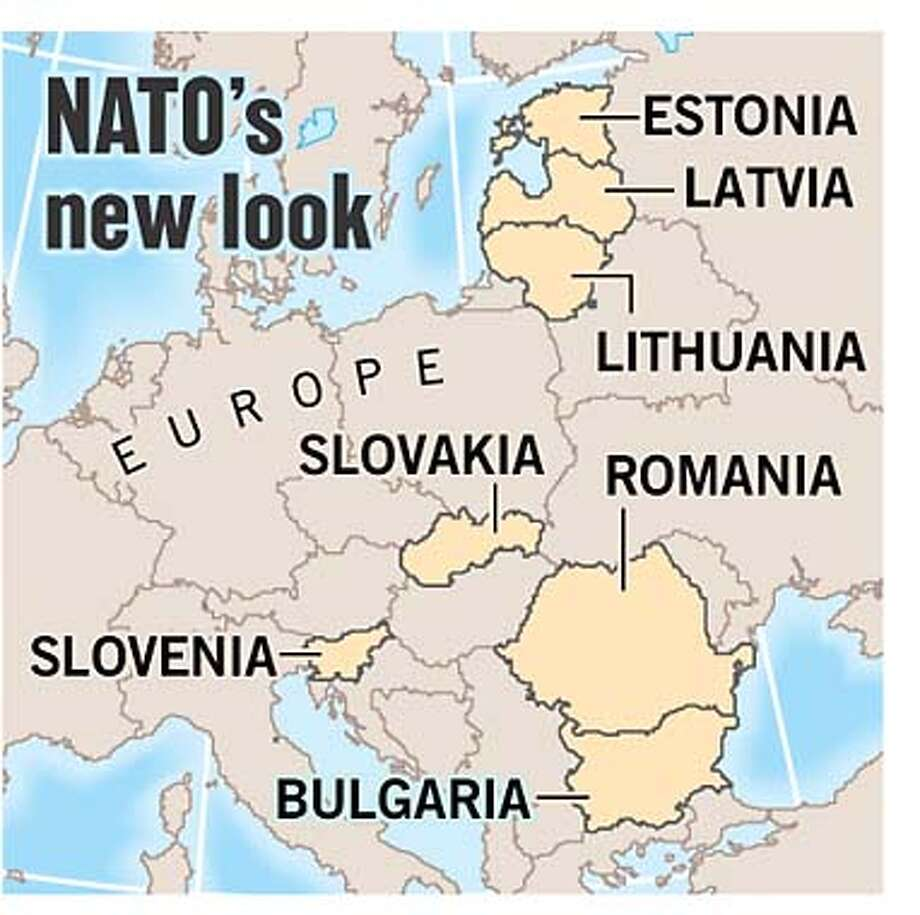 NATO's New Look. Chronicle Graphic