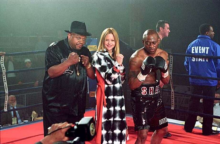 "ROPES20  (Left to right) Charles S. Dutton as Felix, Meg Ryan as Jackie and Omar Epps as Luther in ""Against the Ropes."""