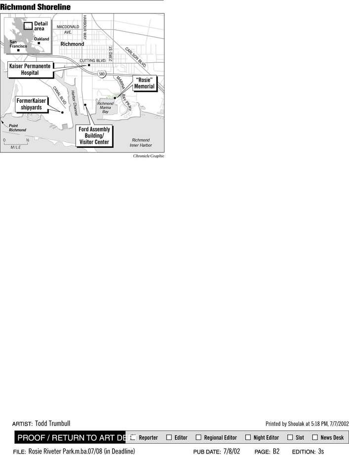 Richmond Shoreline. Chronicle Graphic