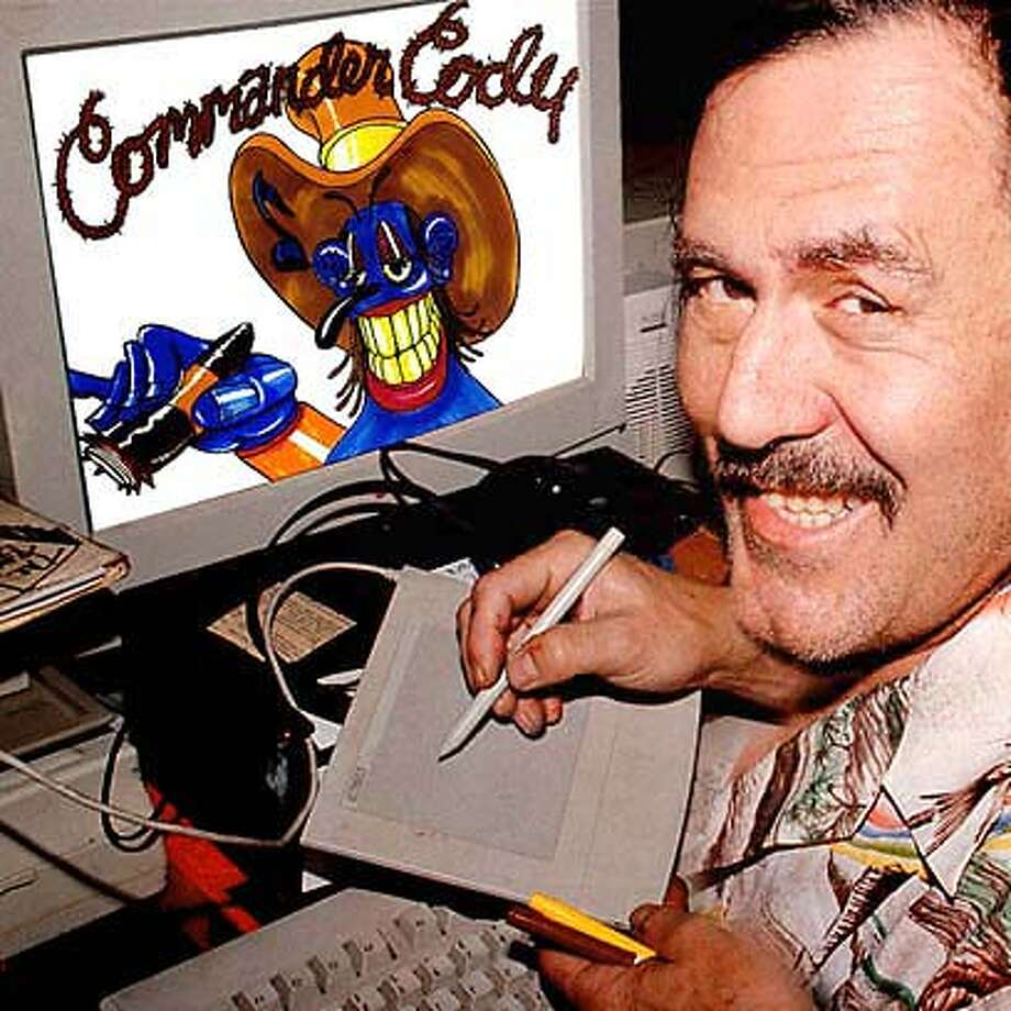 Art of Commander Cody, who will reunite with his Lost Planet Airmen band for a show later this month