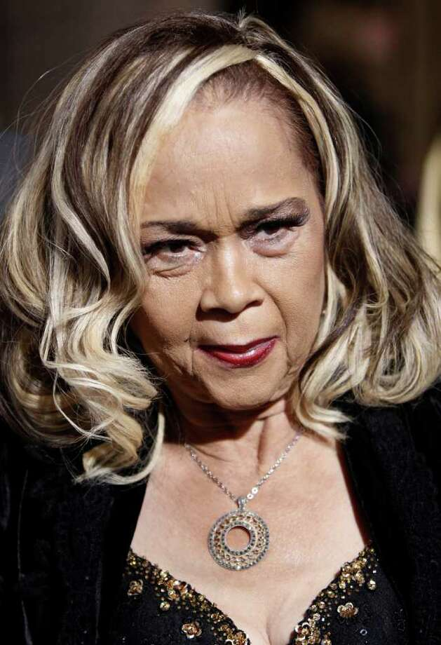 "Etta James arrives at the premiere of ""Cadillac Records"" in Los Angeles on Monday, Nov. 24, 2008.  (AP Photo/Matt Sayles) Photo: Matt Sayles"