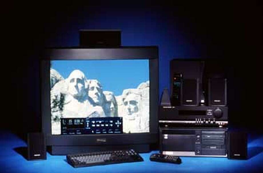 "PCS 4/C/26NOV97/BU/HO--Gateway 2000 Destination D6-300XL personal computer with 35"" monitor for $5000."