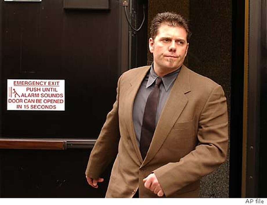 Greg Anderson, personal trainer to San Francisco Giants' Barry Bonds, leaves a federal courthouse Friday, Feb. 13, 2004, in San Francisco. Anderson is one of four men charged Thursday, Feb. 12, 2004, in a 42-count indictment alleging they ran a steroid-distribution ring that provided performance-enhancing drugs to dozens of athletes in the NFL, major league baseball and track and field. During a hearing here Friday all four pleaded innocent before Federal Magistrate Judge Maria-Elena James. (AP Photo/Ben Margot) Greg Anderson, Barry Bonds' personal trainer since 1998. ProductName	Chronicle Greg Anderson had permission to travel to Arizona next week, but Barry Bonds' lawyer didn't think that was a good idea. Photo: BEN MARGOT