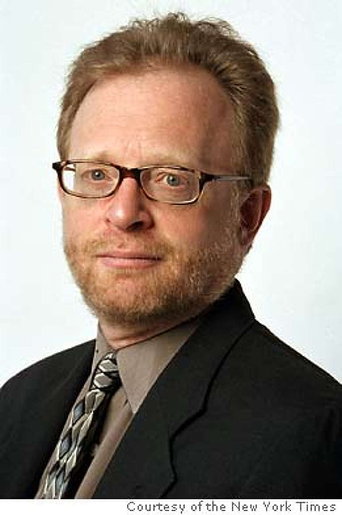 Sam Tanenhaus, new editor of the NEW YORK TIMES book review. photo Courtesy of the NewYork Times.