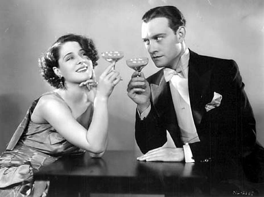 "NORMA SHEARER (WITH CONRAD NAGEL) PAYS BACK HER HUSBAND FOR HIS INFIDELITY IN 1930'S "" THE DIVORCEE."""