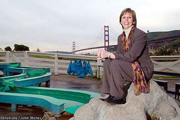 Lori Fogarty, the new director of the discovery Museum in Sausalito. Photo by John Storey.