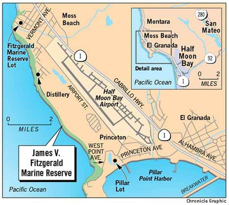 James V.Fitzgerald Marine Reserve. Chronicle Graphic
