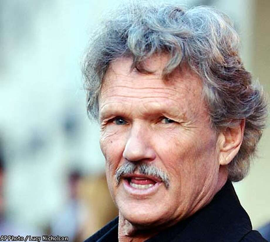 "Actor Kris Kristofferson arrives at the premiere of the film ""Chelsea Walls,"" in Los Angeles, Monday, April 15, 2002. (AP Photo/Lucy Nicholson)"