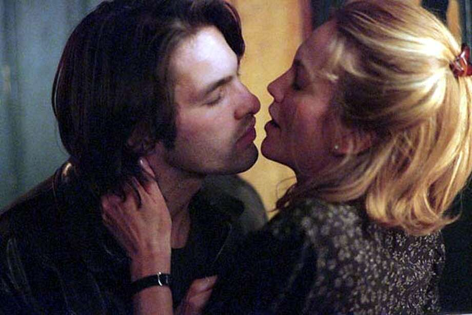 "Big risk: Diane Lane and Olivier Martinez have an extramarital affair in ""Unfaithful."""