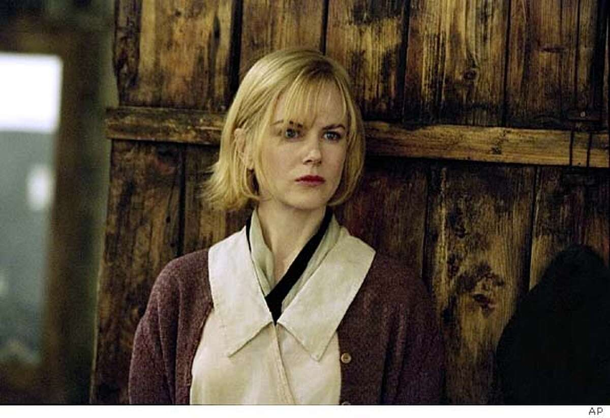 """Grace (Nicole Kidman) is on the run, who ends up in a small mountain town in Lions Gates' film """"Dogville"""" (AP Photo/Lions Gate Films) Nicole Kidman plays Grace in Lars von Triers Dogville."""