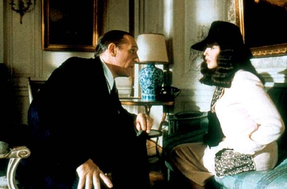 Gerard Depardieu, left, as Beaufort and Isabelle Adjani as Viviane.