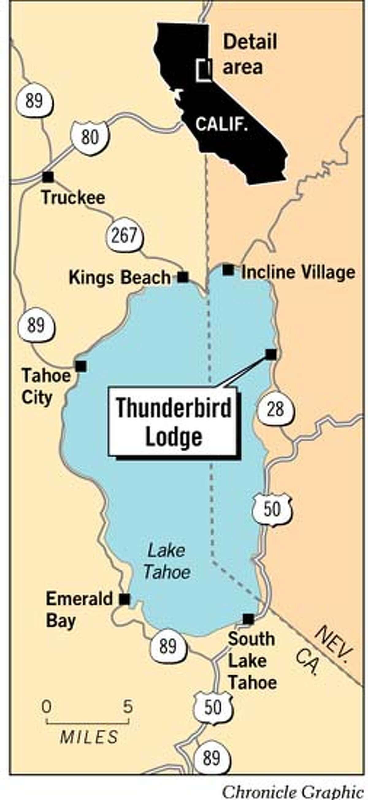 Thunderbird Lodge. Chronicle Graphic
