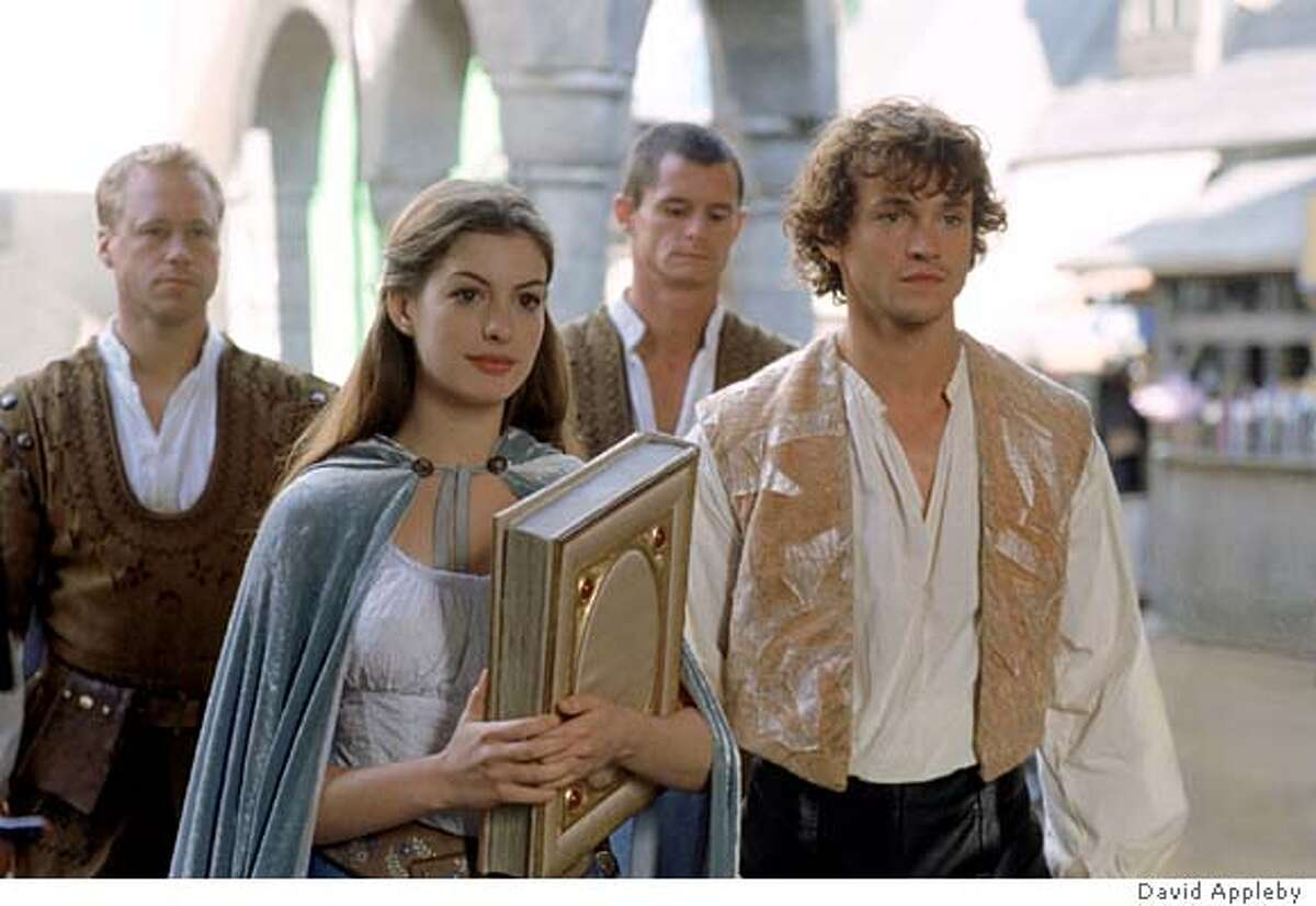 Ella Enchanted (2004) Available on Netflix Feb. 1Ella is under a spell to be constantly obedient, a fact she must hide from her new step-family in order to protect the prince of the land, her friend for whom she's falling.