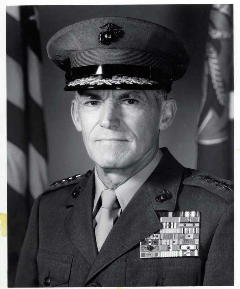 Ansonia, Conn. General Samuel Jaskilka, who served as Assistant Commandant of the Marine Corps, died on Jan. 15, 2012. He retired from the Corps in 1978 after 36 years of service. He was buried Thursday, Jan. 26 in Arlington National Cemetery. Photo: U.S. Marine Corps