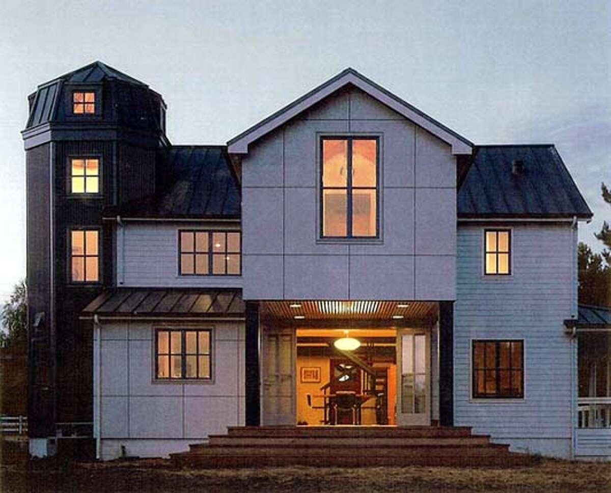 for FARMHOUSExx; napa barn house; napa project / The Chronicle
