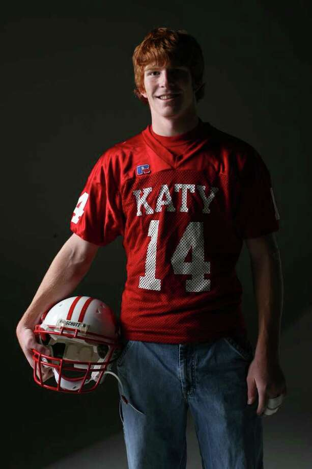 Andy Dalton first got on the football map by leading Katy to a 14-1 record and Class 5A finals berth as a senior. Photo: Mayra Beltran / Houston Chronicle