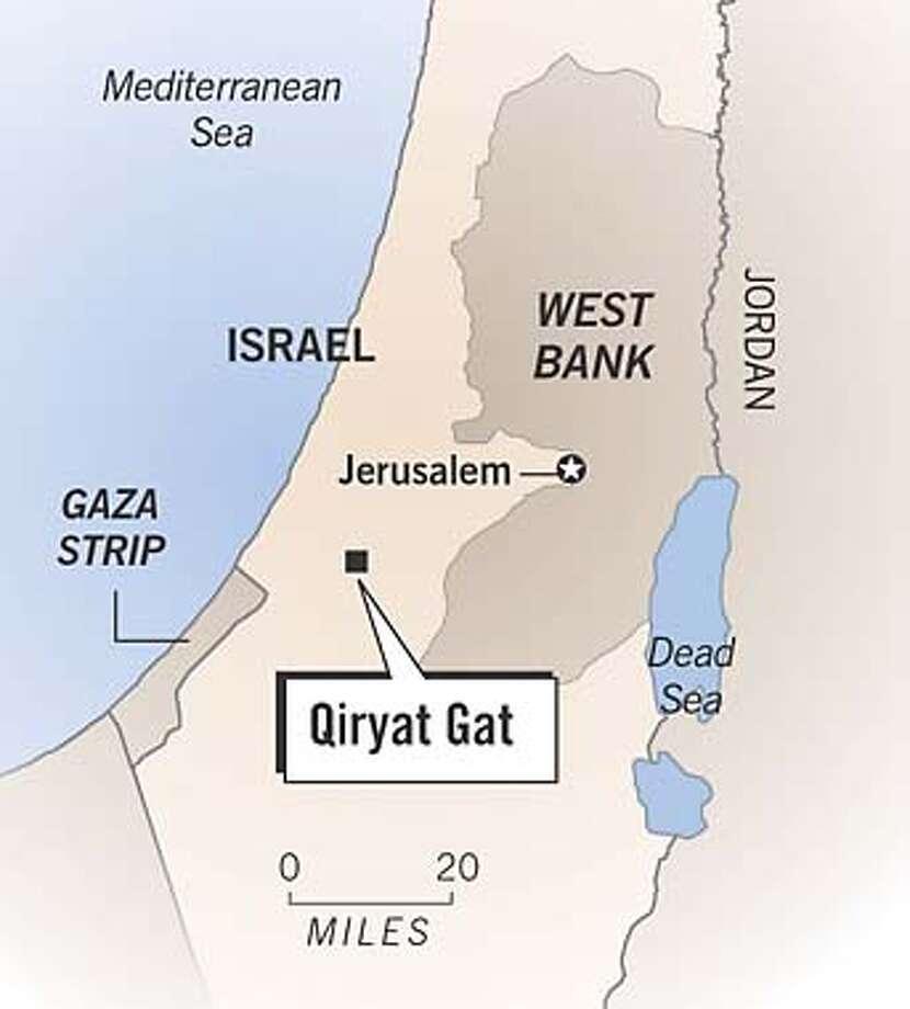 Qiryat Gat. Chronicle Graphic