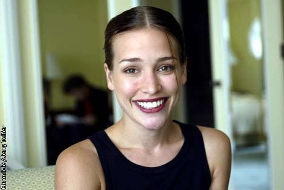 Actress Piper Perabo, who plays French foreign exchange student Genevieve in the comedy