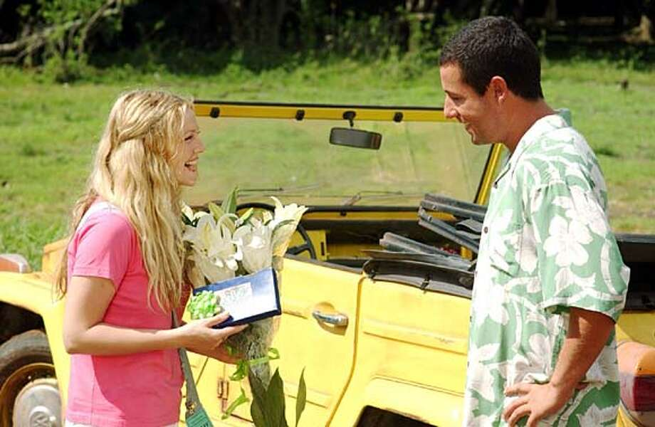 "/ for: Sunday Datebook slug: preview04; Columbia Studio's ""50 first dates"" which opens in theatres on February 13, 2004. / HO"