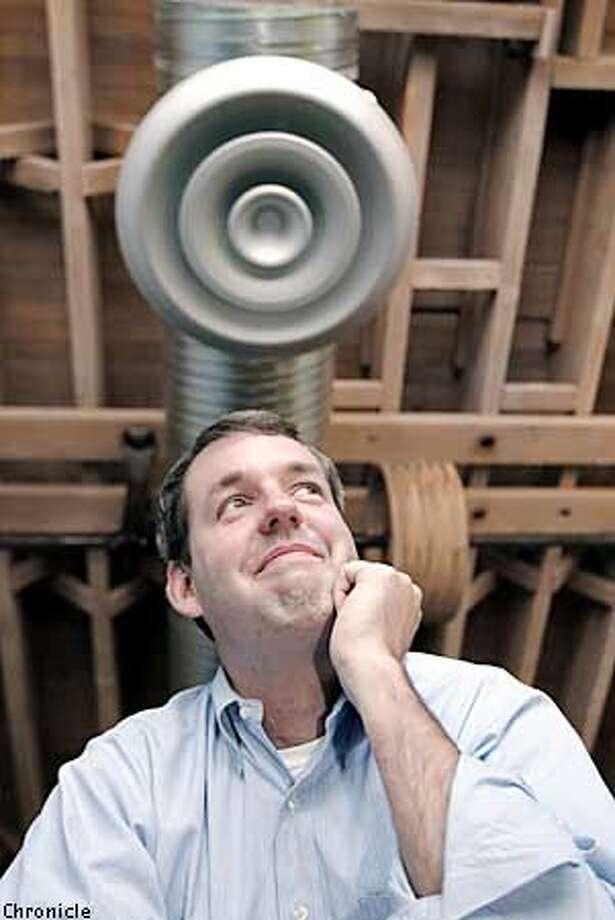 Sean Ryan, CEO of listen.com, 2012 16th Street, SF. PHOTO BY THE CHRONICLE Photo: STAFF