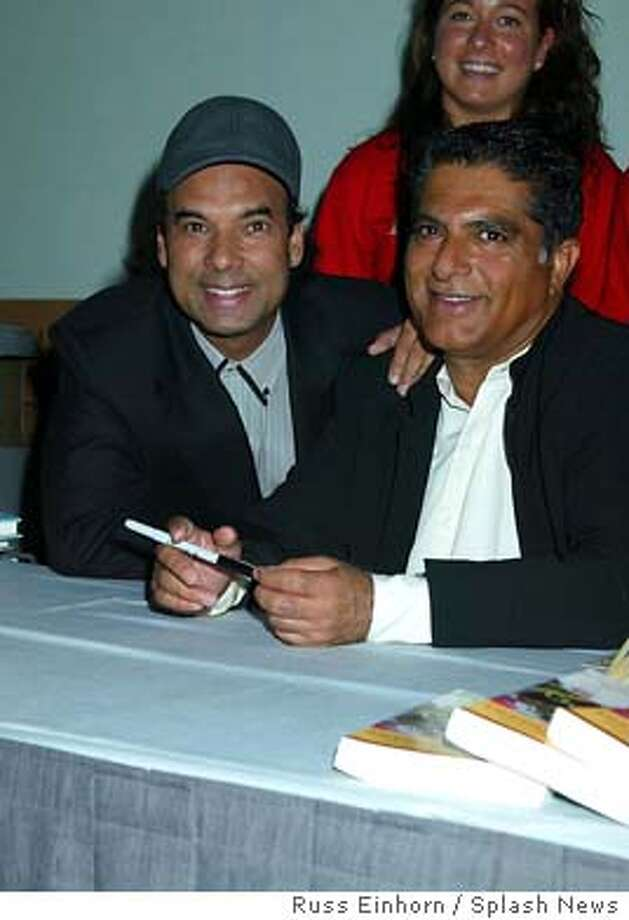 Bikram Choudhury Yoga Expo Producer, with Dr.Deepak Chopra, Keynote speaker at Yoga Expo, Los Angeles Convention Center, Los Angeles, California.  Picture Russ Einhorn  Ref: RE 250903  www.splashnews.com  Los Angeles: 310-821-2666  New York: 212-619-2666  London: 207-107-2666  photodesk@splashnews.com Photo: Russ Einhorn / Splash News
