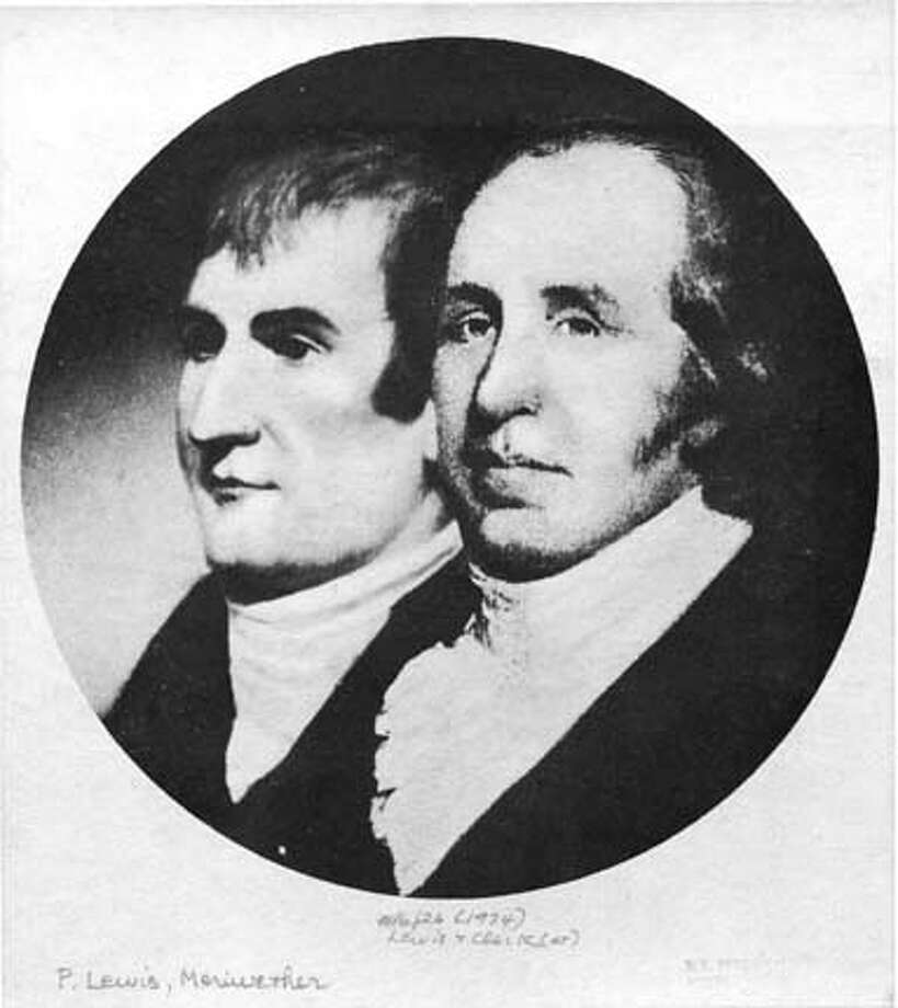 **ADVANCE FOR SUNDAY, JAN. 12 ** This is an undated photo of a portrait of explorers Meriwether Lewis, left, and William Clark. (AP Photo/FILE) ALSO RAN 04/27/03