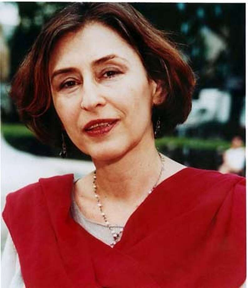 Azar Nafisi on 1/29/04 in San Francisco. / HO
