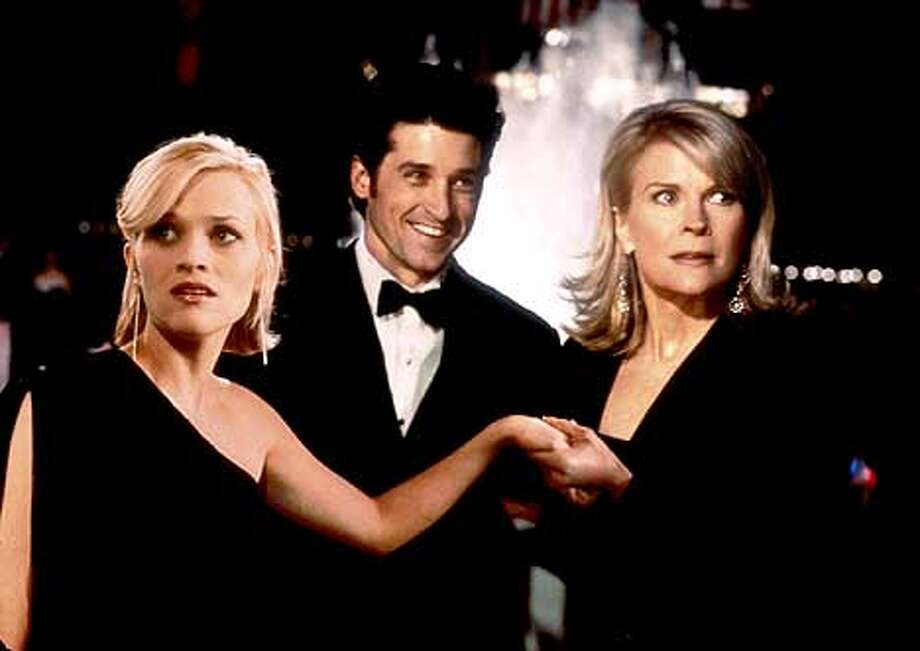 """Reese Witherspoon, Patrick Dempsey and Candice Bergman star in """"Sweet Home Alabama,'' expected to be a popular fall date film."""
