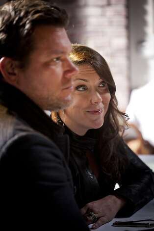 Tyler Florence with beautiful, cute, clever, Wife Tolan Clark