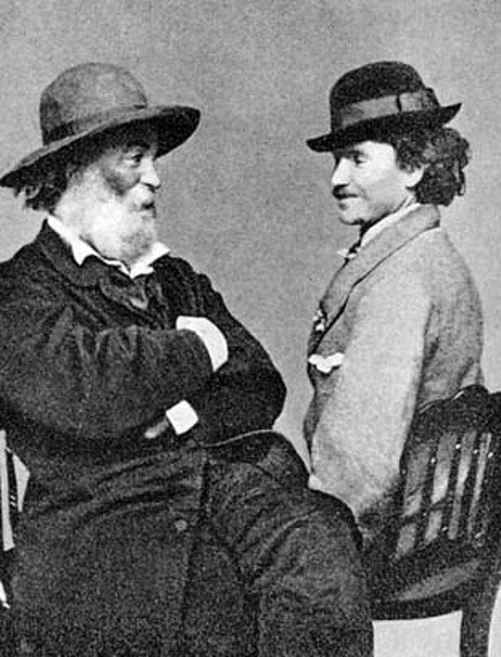Walt Whitman and Peter Doyle.