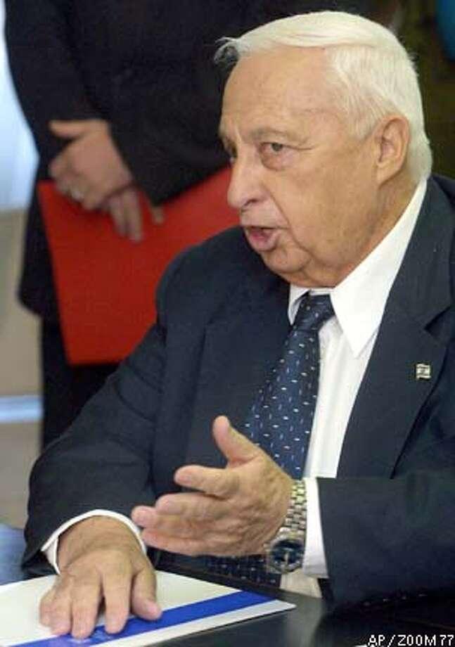 Israeli Prime Minister Ariel Sharon was defense minister during the Lebanon invasion. ZOOM 77 photo via Associated Press