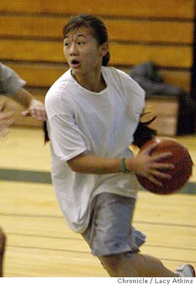 PNDANIELA_062_.jpg  Westmoor High School sophomore guard Daniela Nopuente, during practice , Jan. 26, 2004, in Daly City. Lacy Atkins / The Chronicle Photo: Lacy Atkins