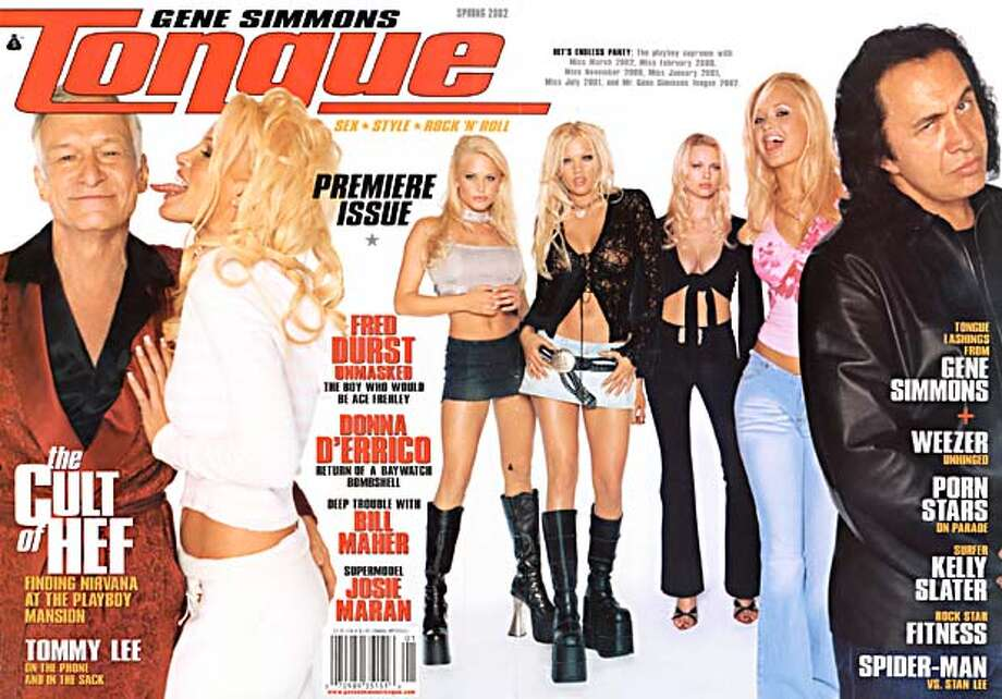 Cover of Spring 2002 edition of Tongue Magazine.