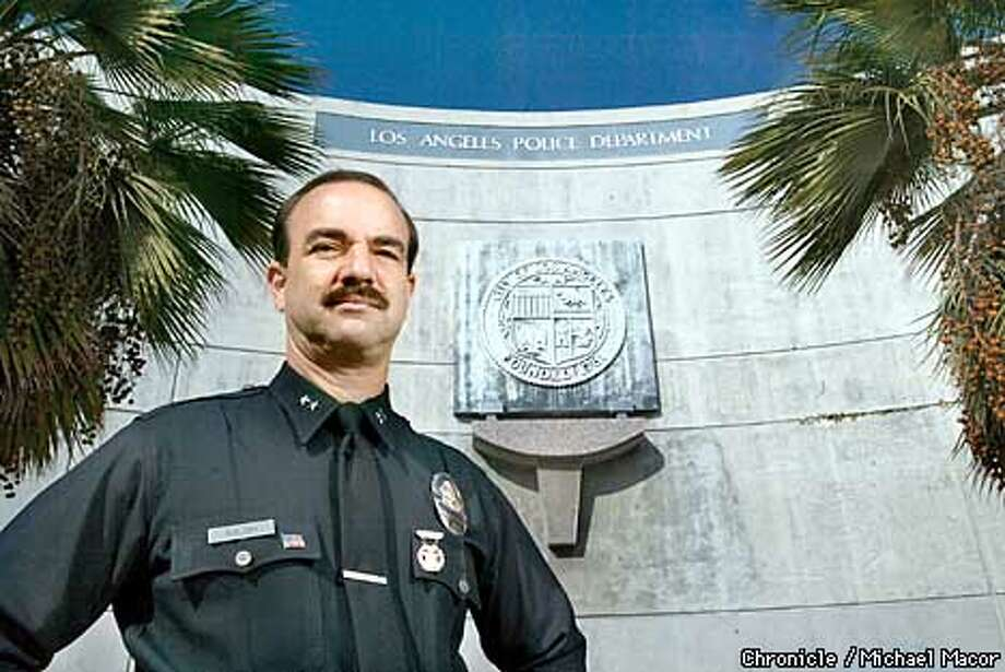 Kalish pictured outside the West Divison station south of downtown. Deputy Police Chief of Los Angeles, Dave Kalish has his sights on the top job as Police Chief. by Michael Maocr/The Chronicle Photo: MICHAEL MACOR