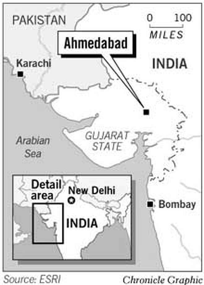 Ahmedabad, India. Chronicle Graphic