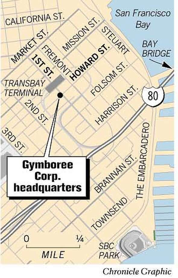 Gymboree Corp. Headquarters. Chronicle Graphic Photo: Joe Shoulak